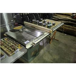"""GENERAL 350 10"""" TABLE SAW WITH EXTENDED TABLE"""