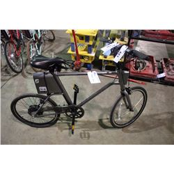 MEN'S GREY YUNBIKE C-SERIES ELECTRIC ASSIST BIKE WITH BATTERY, KEY & CHARGER (IN