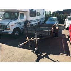 9' TRAILER, *PARTS ONLY*, *NO REGISTRATION*, *MUST TOW*