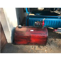 RED TIDY TANK WITH ELECTRIC PUMP