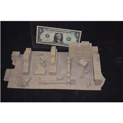 ZZ-CLEARANCE MINIATURE ANCIENT GREEK & ROMAN RUINS BUILT BY GRANT MCCUNE 5