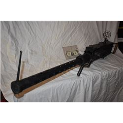 ZZ-CLEARANCE 50 CALIBER MACHINE GUN ALL METAL NON-FIRING PROP WITH RANGE SITES