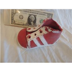 ZZ-CLEARANCE CURSE SEED OF CHUCKY SCREEN USED HERO LEFT SHOE WORN BY ANIMATRONIC PUPPET 2