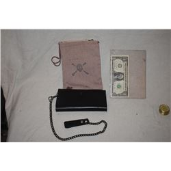 PIRATES OF THE CARIBBEAN JACK SPARROW WALLET GIVEN ONLY TO PRODUCERS BY JERRY BRUCKHEIMER