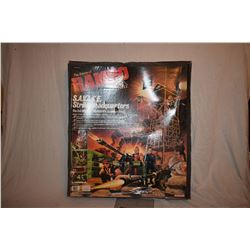 RAMBO S.A.V.A.G.E. STRIKE HEADQUARTERS 1985 MINT & STILL SEALED ACTION FIGURE PLAY SET 1