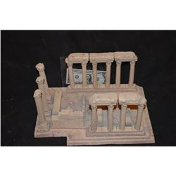 ZZ-CLEARANCE MINIATURE ANCIENT GREEK & ROMAN RUINS BUILT BY GRANT MCCUNE 2