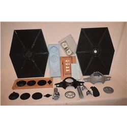 STAR WARS TIE FIGHTER STUDIO SCALE COMPLETE SET OF CASTINGS AND OR MOLDS MADE BY GRANT MCCUNE