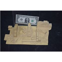 ZZ-CLEARANCE MINIATURE ANCIENT GREEK & ROMAN RUINS BUILT BY GRANT MCCUNE CASTING