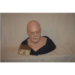 SIX FEET UNDER SILICONE BALD DEAD MAN FULL BUST