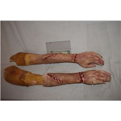 SIX FEET UNDER MATCHED PAIR OF SILICONE ARMS