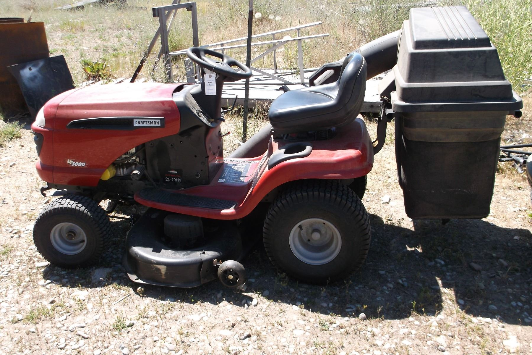 Briggs And Stratton Mower : Craftsman lt riding mower briggs and stratton intek