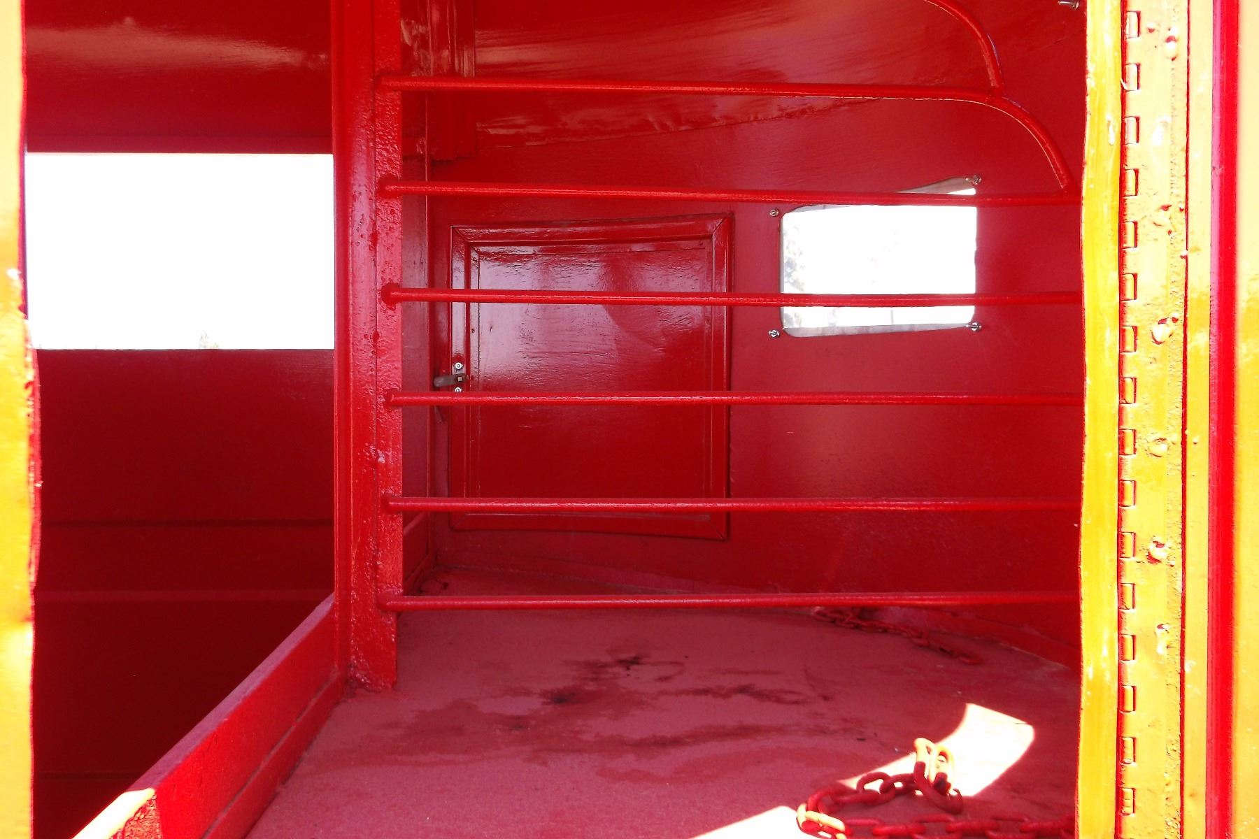 1977 Miley 2 Horse Trailer New Floor Paint Wiring Lights Clear Image 6