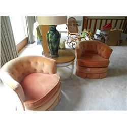 Plush Retro Chairs