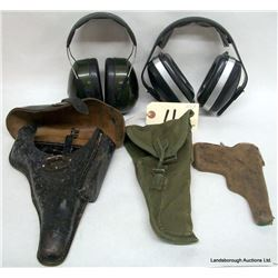 HOLSTERS AND HEARING PROTECTION