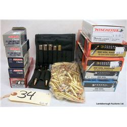 BOX LOT RIFLE AMMUNITION