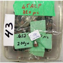 45 ACP PROJECTILES