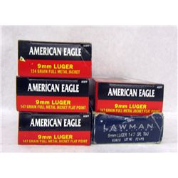 244 RDS 9MM LUGER AMMO