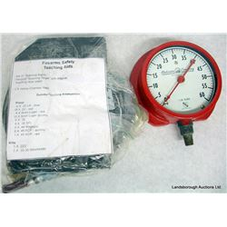 FIREARMS SAFETY TEACHING AID AND PRESSURE GAUGE