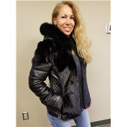 Moto Leather Jacket from the Alaska Fur Gallery of Anchorage