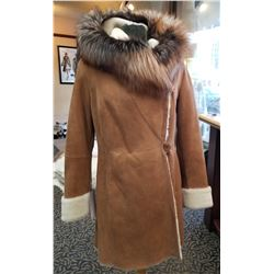 Shearling Stroller from the Alaska Fur Gallery of Anchorage