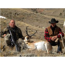 Wyoming Antelope hunt with Scolari Outfitters