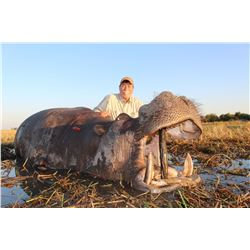 """Namibia """"Own Use"""" Hippo hunt with Thormahlen & Cochran Safaris"""