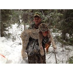 6 Day 1:1 Lynx & Whitetail Combo Hunt