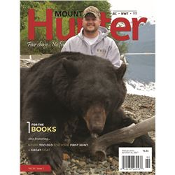 Outside Back Cover of Mountain Hunter Magazine