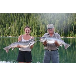 3-DAY RAINBOW AND BULL TROUT FISHING TRIP FOR TWO