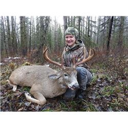 6-DAY WHITETAIL DEER HUNT IN NORTHEAST BC