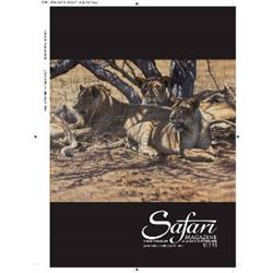 Half-page Ad in July/August Issue of Safari Magazine