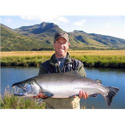 Alaska Fishing Trip for Two Anglers (Air Charter Service)