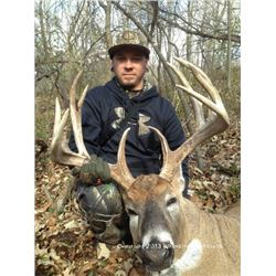 Minnesota - 4 Day - 3 Night Hunt for 1 Hunter with a $2,000 Trophy Fee credit for 1 Hunter in 2018.