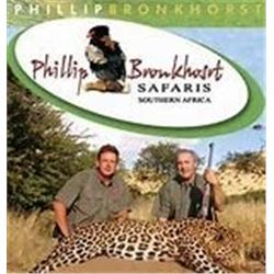 10 Day South Africa Safari for 1 Hunter and 1 Non-hunter + $3500 in Trophy Fee Credit