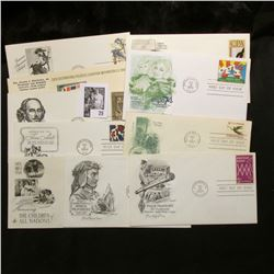 (10) First Day Covers dating from 1963-87, including a John James Audubon Cover.