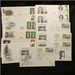 (10) First Day Covers dating from 1955-78, including a John James Audubon Cover.
