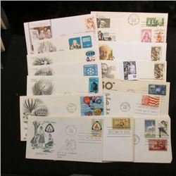 (20) Special Cacheted or First Day Covers dating back to 1955.