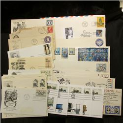 (30) Special Cacheted or First Day Covers dating back to 1914. Includes a John Deere early envelope.