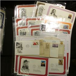 (20) Old First Day Covers dating back to 1954. Includes Legends of the Old West.