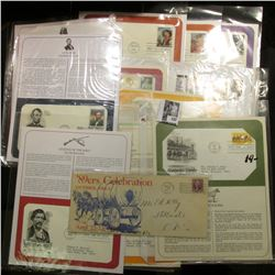 (16) Special and First Day Covers dating back to 1935. Includes a Babe Ruth First Day of Issue.