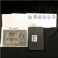 "(6) Unused Prestamped United Nations Envelopes; 1932 book ""The Law of Arrest"", by Clarence Alexander"