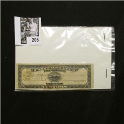 Series of 1931 United States Imported Cigars Customs Stamp, Port San Francisco.