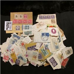 Large goup of Used U.S. Mix postage Stamps.