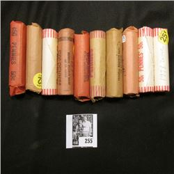 (10) Rolls of early U.S. Memorial Lincoln Cents, many are Gem BU.
