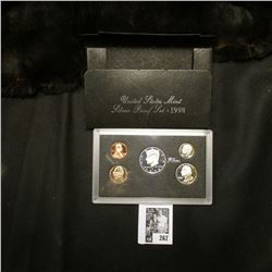 1998 S U.S. Silver Proof Set. Original as issued.