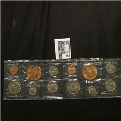 (2) 1977 U.S. Denver Mint Souvenir Set of Coins, original as issued.