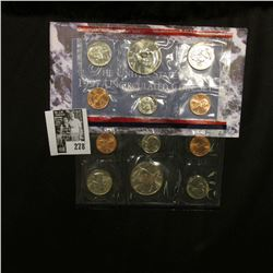 1997 U.S. Mint Set. Original as issued.