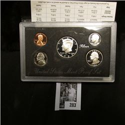 1992 S U.S. Silver Proof Set. Original as issued.