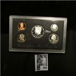 1993 S U.S. Silver Proof Set. Original as issued.
