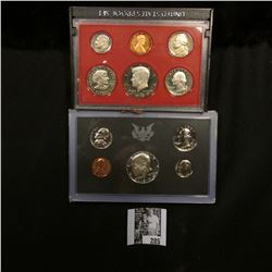 1970 S & 80 S U.S. Proof Sets, original as issued. Some toning on the latter set.
